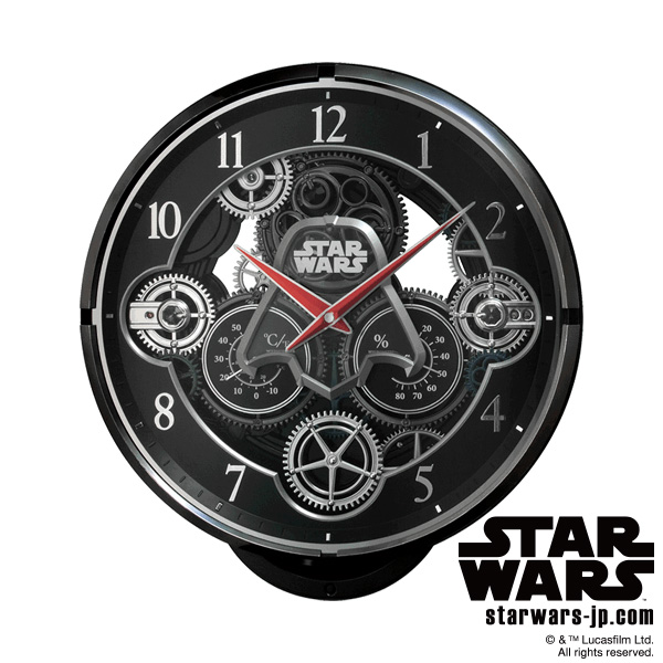 【電波 からくり 掛 時計 スター・ウォーズ ダースベイダー】 KARAKURI CLOCK 4MN533MC02 STAR WARS スター・ウォーズ ダースベイダー Darth Vader 電波時計 からくり 【お取り寄せ】 【20%OFF】【Disneyzone】 【新生活 卒業 入学 祝】【新生活 応援】