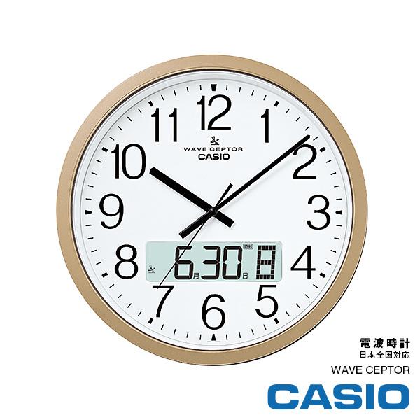 電波時計 カシオ IC-4100J-9JF クロック オフィス・学校向け カレンダー表示 チャイム報音 プログラム 掛け時計 【お取り寄せ】【プレゼント ギフト 贈り物 ラッピング】