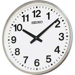 オフィスタイプ 屋外 JIS防雨型 大型 掛け時計 クオーツ セイコークロック 30%OFF ブランド品 お取り寄せ 正規品 KH411S ギフトラッピング対応