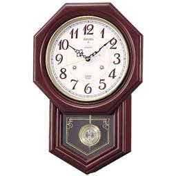 【電波時計 掛け時計 レトロ】 RQ205B セイコークロック 電波クロック チャイム&ストライク 掛け時計 【30%OFF】【お取り寄せ】【柱時計】 【プレゼント ギフト 贈り物 ラッピング】【お取り寄せ】