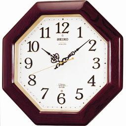 【掛け時計 電波時計 木枠】 RX210B セイコークロック 電波クロック チャイム&ストライク 掛け時計 【30%OFF】【お取り寄せ】【景品 ギフト お中元】