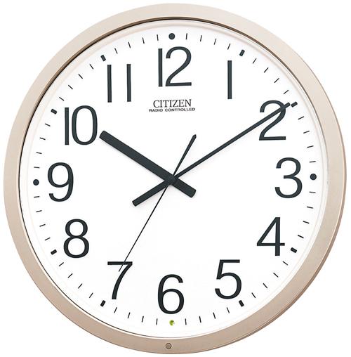 【電波 掛 時計 オフィス】 シチズン CITZEN 電波 掛 時計 4MY603-B19 ステップ秒針 オフィス 学校 【30%OFF】【お取り寄せ】 【景品 ギフト お中元】