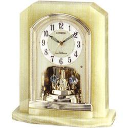 電波 置 時計 オニックス シチズン CITIZEN 夜眠る秒針 4RY691-005 30%OFF ステップ秒針 [並行輸入品] 毎日がバーゲンセール 電池交換お知らせ スワロフスキー