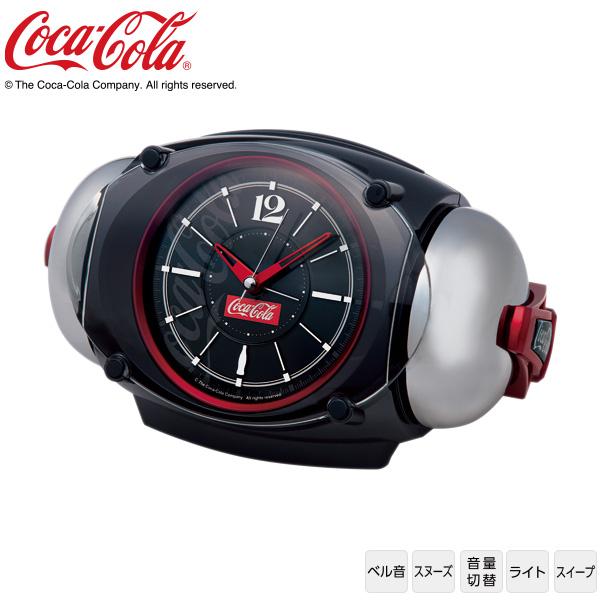 コカ・コーラ Coca Cola 大音量 目ざまし 時計 AC605K ライデン RAIDEN ベル音 スヌーズ ライト スイープ セイコー SEIKO 【令和 ギフト 贈り物】【お取り寄せ】