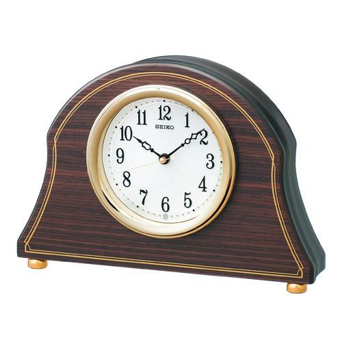 【電波時計 置き時計 木枠】 BZ234B セイコークロック 電波クロック 木枠 置き時計 電池切れ予告 おやすみ秒針 【30%OFF】【お取り寄せ】【新生活 卒業 入学 祝】