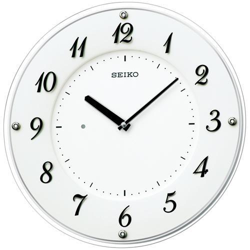 【掛け時計 電波時計 薄型】 KX503W セイコークロック 薄型 電波クロック 掛け時計 電波アナログ時計 【30%OFF】【お取り寄せ】【景品 ギフト お中元】【新生活 応援】
