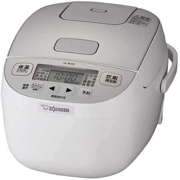 ZOJIRUSHI NL BC05 WA ホワイト 象印 マイコン炊飯ジャー 極め炊き NL BC型 小容量3合炊き ハイパワーPZiukOX