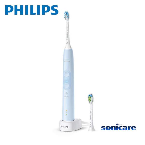 Sonicare HX6453/68 ライトブルー フィリップス ソニッケアー ProtectClean プロテクトクリーン プラス 電動歯ブラシ / 過圧防止センサー 2つのモード、3 段階の強さ設定 【プレゼント ギフト 贈り物 ラッピング】【在庫あり】