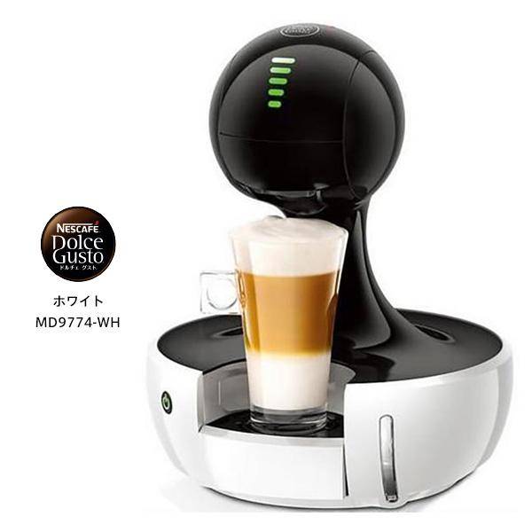 【お取り寄せ】 Nestle MD9774-WH ネスレ日本  ネスカフェ ドルチェ グスト ドロップ [カラー:ホワイト コーヒーメーカー] 【新生活 卒業 入学 祝】