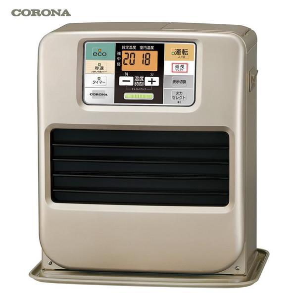 【お取り寄せ】 CORONA FH-SR3318Y-N シャンパンゴールド コロナ 石油ファンヒーター (木造:9畳まで、コンクリート:12畳まで) タンク5.0L ※リモコン付きで大きな操作パネル 【令和 結婚祝い 感謝】