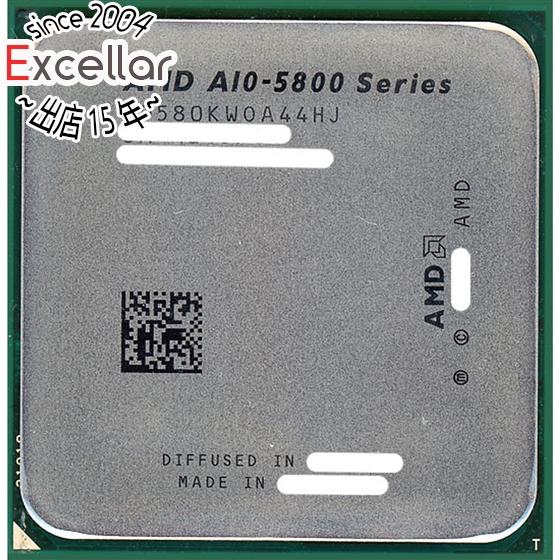 【キャッシュレスで5%還元】【中古】AMD A10-Series A10-5800K 3.8GHz Socket FM2 AD580KWOA44HJ
