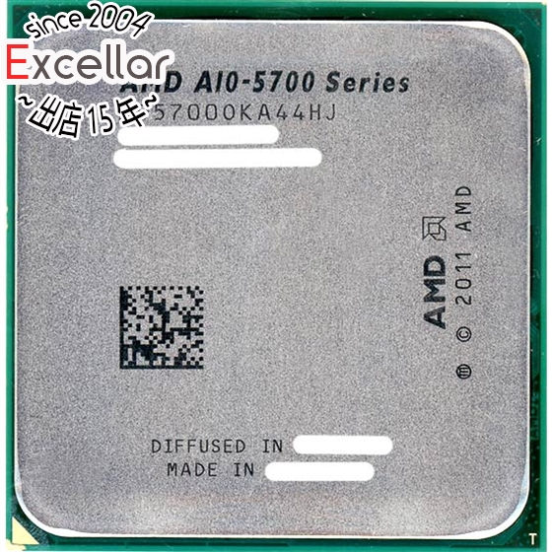 A10-5700 バルク 中古 AMD 特価品コーナー☆ A10-Series 3.4GHz FM2 Socket AD5700OKA44HJ 使い勝手の良い