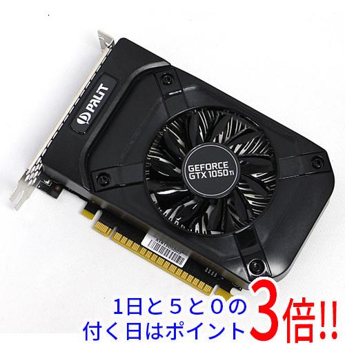 【中古】PALIT GeForce GTX1050Ti 4GB STORMX NE5105T018G1-1070F