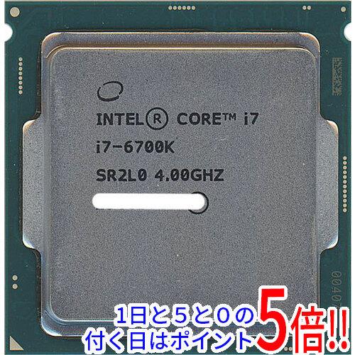 【中古】Core i7 6700K 4.0GHz 8M LGA1151 95W SR2L0