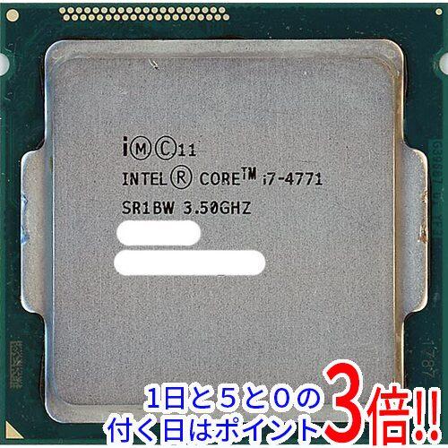 【中古】Core i7 4771 Haswell 3.5GHz LGA1150 SR1BW