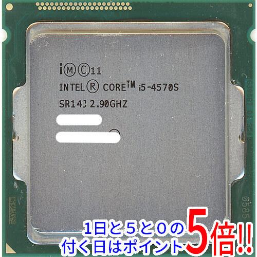 【中古】Core i5 4570S 2.9GHz 6M LGA1150 65W SR14J