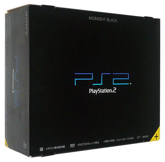 【中古】SONY PS2 ミッドナイト・ブラック SCPH-50000NB 本体美品・箱いたみ 元箱あり