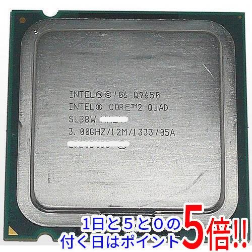 Core 2 Quad Q9650 バルク 大規模セール 中古 LGA775 3.00GHz SLB8W スピード対応 全国送料無料 FSB1333MHz 45nm