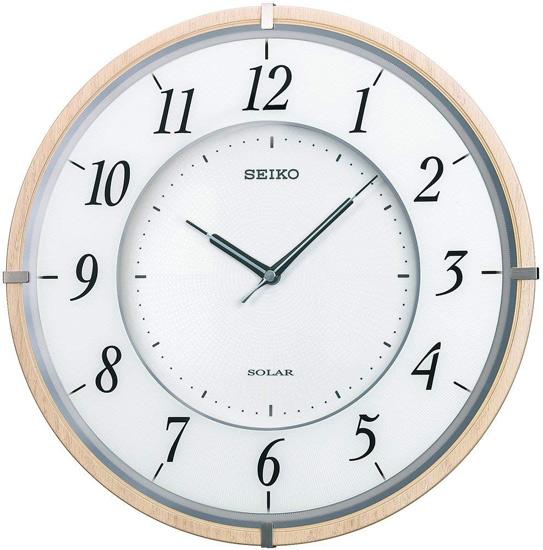 【姉妹店にてイベント実施中!バナーをクリック!】【中古】SEIKO 電波掛時計 SF501B 未使用