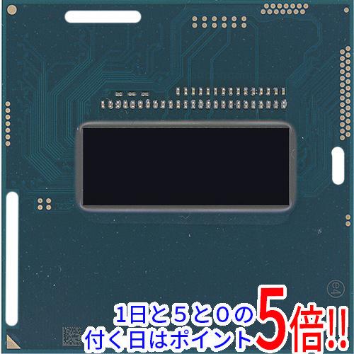 【キャッシュレスで5%還元】【中古】Core i7 4800MQ 2.7GHz Socket G3 SR15L