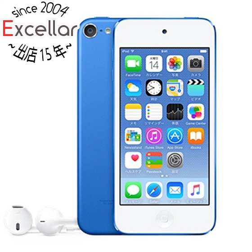 【あす楽対応】 【キャッシュレスで5%還元】Apple 第6世代 iPod touch MKHV2J/A ブルー/32GB