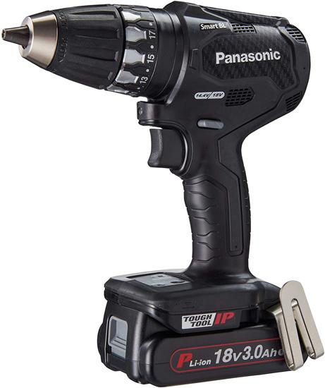 【キャッシュレスで5%還元】Panasonic 充電式ドリルドライバー EZ74A3PN2G-B 黒