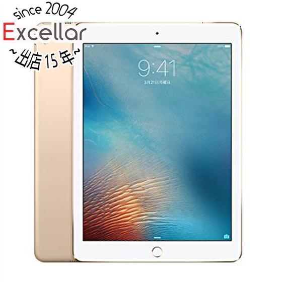 【中古】APPLE iPad Pro 9.7インチ Wi-Fi+Cellular 128GB MLQ52J/A au ゴールド 美品 元箱あり