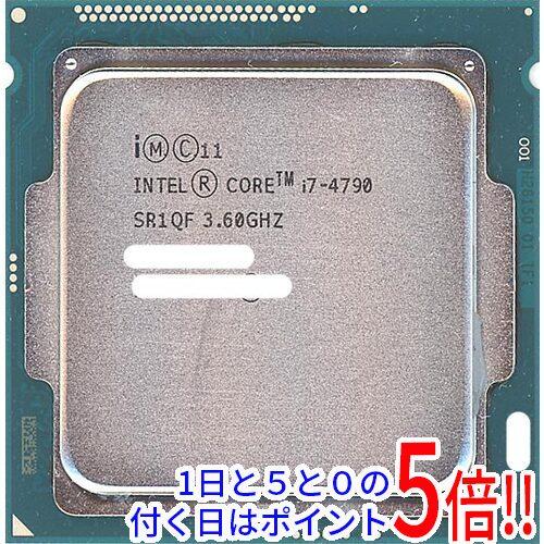 【キャッシュレスで5%還元】【中古】Core i7 4790 Haswell 3.6GHz LGA1150 SR1QF