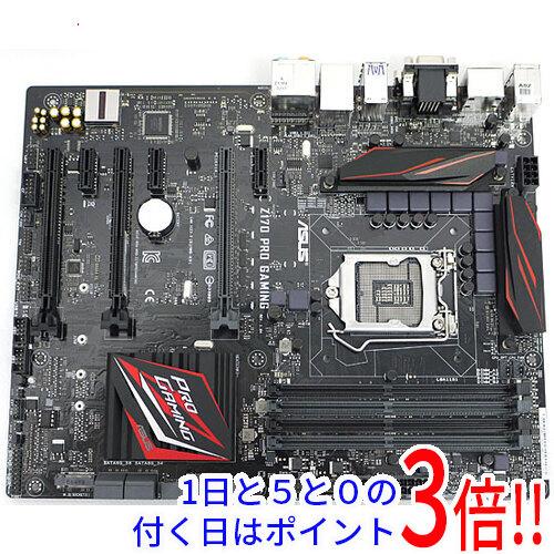 【中古】ASUS製 ATXマザーボード Z170 PRO GAMING LGA1151