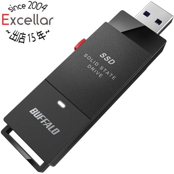 SALE SSD-PUT500U3-BKC ブラック ●スーパーSALE● セール期間限定 BUFFALO 500GB 外付けSSD