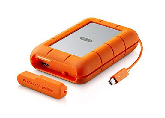 【キャッシュレスで5%還元】【新品訳あり(箱きず・やぶれ)】 LaCie Rugged RAID Thunderbolt 4TB STFA4000400