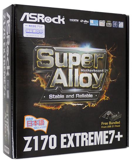 【中古】ASRock製 LGA1151 ATXマザーボード Z170 Extreme7+ LGA1151 元箱あり Extreme7+ 元箱あり, gaRon:3ae5295a --- officewill.xsrv.jp