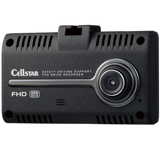 【キャッシュレスで5%還元】【新品(開封のみ)】 CELLSTAR ドライブレコーダー CSD-750FHG