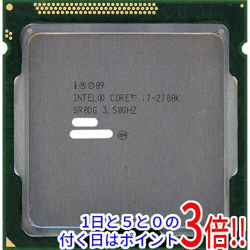 Core i7 2700K バルク SR0DG LGA1155 3.5GHz 気質アップ 中古 ギフト プレゼント ご褒美