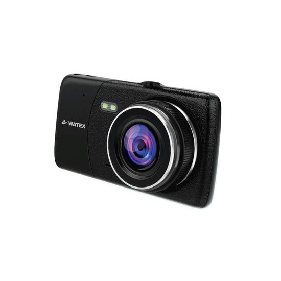 【キャッシュレスで5%還元】【中古】WATEX 前後2カメラ ドライブレコーダー DVR-2CAM-R 未使用