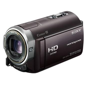 ソニー【SONY】デジタルHDビデオカメラレコーダー HDR-CX370V-T(ボルドーブラウン)★送料無料【HDRCX370V】