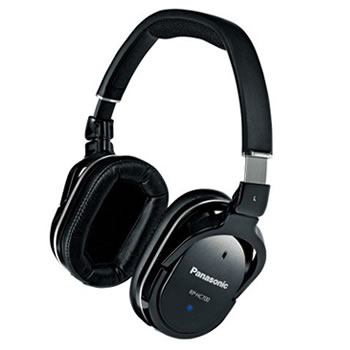 パナソニック【Panasonic】ステレオヘッドホン RP-HC700-K(ブラック)★送料無料【RPHC700】