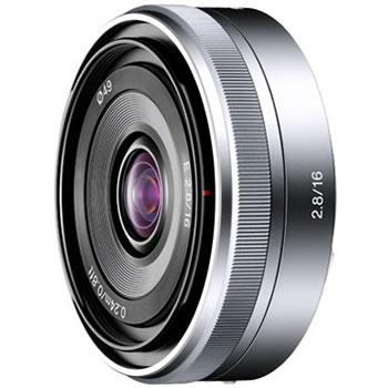 ソニー【NEX用】単焦点レンズE16mm F2.8 SEL16F28★送料無料!【SEL16F28】