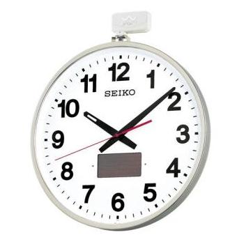 セイコー【SEIKO】屋外防雨型 アナログ電波掛け時計 SF211S★【ソーラー】