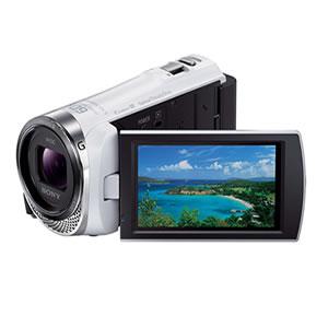 ソニー【SONY】デジタルHDビデオカメラレコーダー HDR-CX420-W(ホワイト)★【HDRCX420】