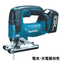 マキタ【makita】18V充電式ジグソー 本体のみ・ケース付 JV182DZK★【JV182DZK】
