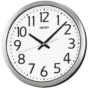 セイコー【SEIKO】防湿・防塵型クロック KH406S★壁掛け時計【オフィスタイプ】