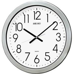 セイコー【SEIKO】防湿・防塵型クロック★壁掛け時計【KH407S】