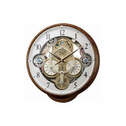 リズム時計工業【CITIZEN】スモールワールドシーカー★からくり 時計【4MN515RH23】