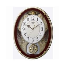 リズム時計工業【CITIZEN】スモールワールドプラウド★からくり 時計【4MN523RH06】