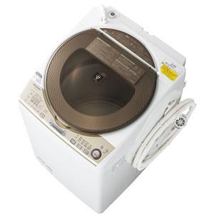 シャープ【SHARP】9.0kgタテ型洗濯乾燥機 ES-TX940-N★【ESTX940】
