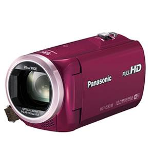 パナソニック【Panasonic】デジタルビデオカメラ HC-V550M-R(レッド)★【HCV550M】