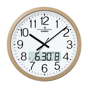 カシオ【CASIO】電波壁掛け時計 IC-4100J-9JF★【IC4100J9JF】