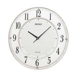 セイコー【SEIKO】ソーラー電波掛け時計 ソーラープラス SF506W★【SF-506W】