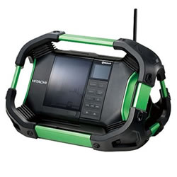 HiKOKI【ハイコーキ】BluetoothR 対応 コードレスラジオ UR18DSDL-NN★【UR18DSDL(NN)】